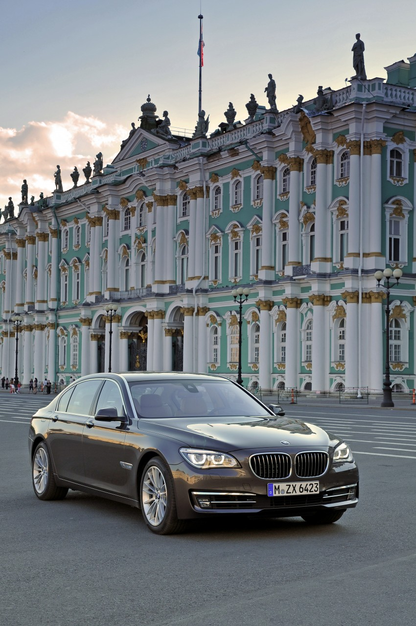 GALLERY: F01/F02 BMW 7-Series LCI International Media Drive – BMW 750Li long wheelbase Image #119904