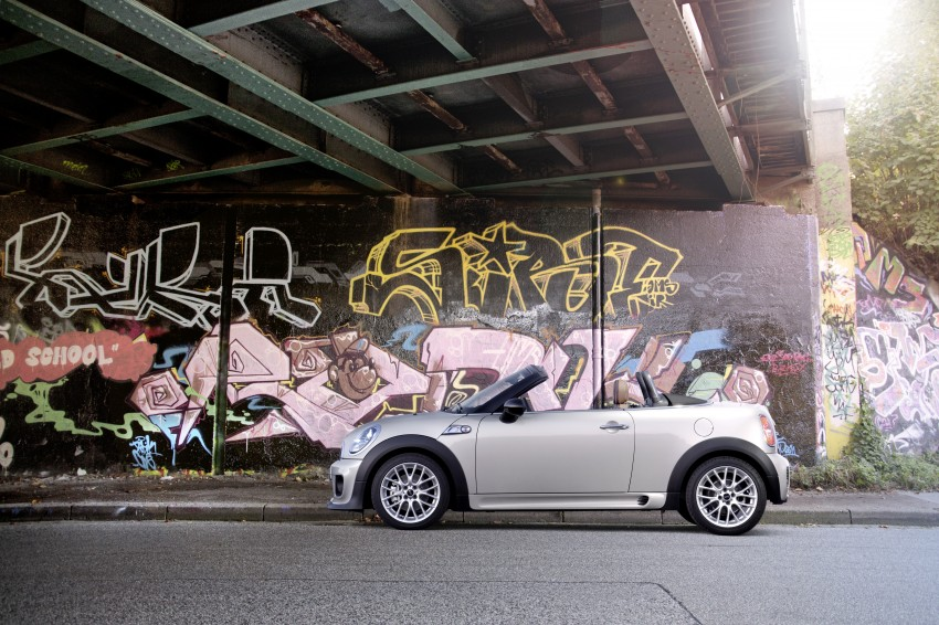 MINI Roadster – production drop top MINI Coupe unveiled! Image #74908