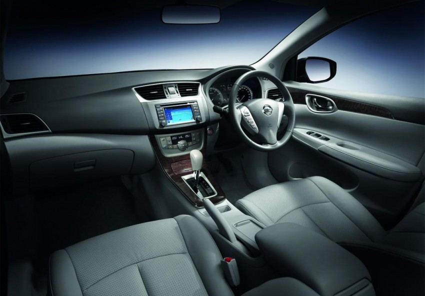 Nissan Sylphy launched in Thailand – new model gets improved 1.6, new 1.8, CVT; from 746,000 baht Image #127989