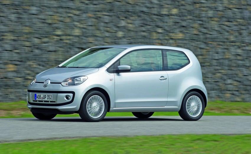 Volkswagen up! – production car debut at Frankfurt 2011 Image #69860