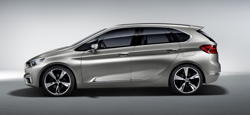 BMW Concept Active Tourer: Munich's B-Class competitor is front wheel drive! Image #131396