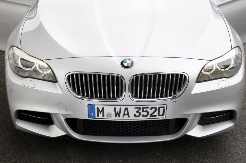 BMW M Performance Automobiles: tri-turbo diesel trio F10 BMW M550xd, BMW X5 M50d and BMW X6 M50d! Image #90245