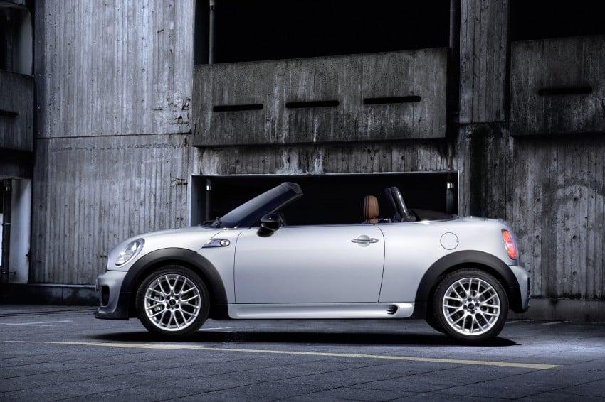 MINI Roadster – production drop top MINI Coupe unveiled! Image #74909