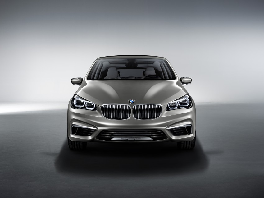 BMW Concept Active Tourer: Munich's B-Class competitor is front wheel drive! Image #131397