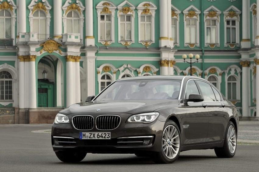 GALLERY: F01/F02 BMW 7-Series LCI International Media Drive – BMW 750Li long wheelbase Image #119909