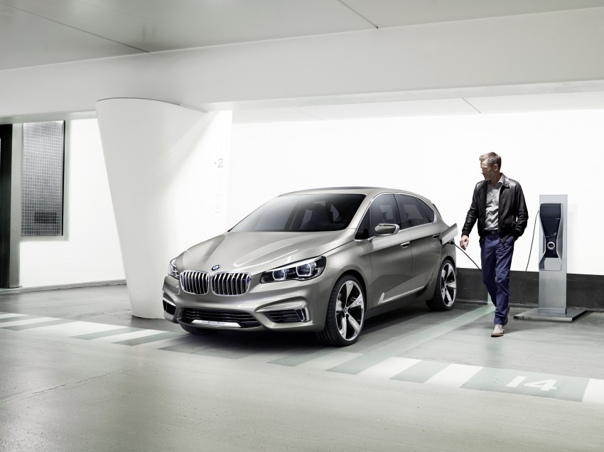 BMW Concept Active Tourer: Munich's B-Class competitor is front wheel drive! Image #131398