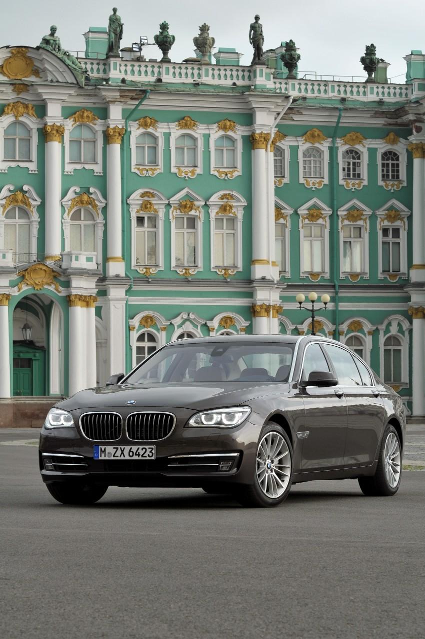 GALLERY: F01/F02 BMW 7-Series LCI International Media Drive – BMW 750Li long wheelbase Image #119910