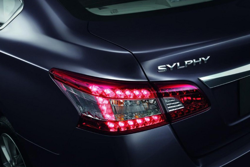 Nissan Sylphy launched in Thailand – new model gets improved 1.6, new 1.8, CVT; from 746,000 baht Image #127992