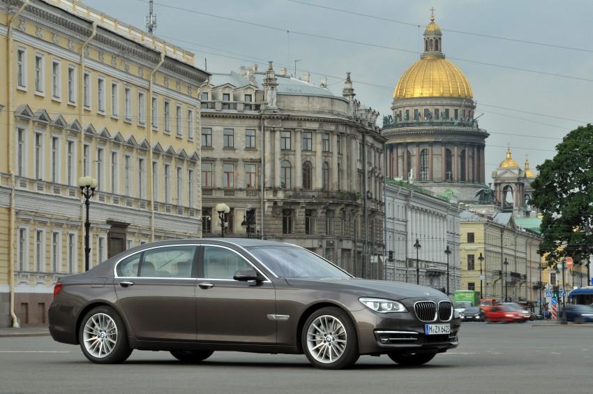 GALLERY: F01/F02 BMW 7-Series LCI International Media Drive – BMW 750Li long wheelbase Image #119913