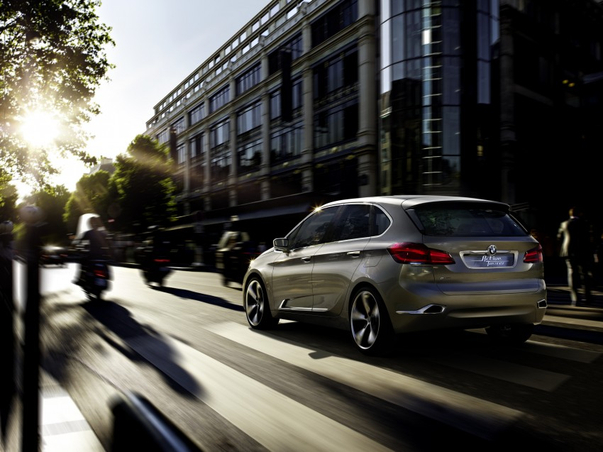 BMW Concept Active Tourer: Munich's B-Class competitor is front wheel drive! Image #131401