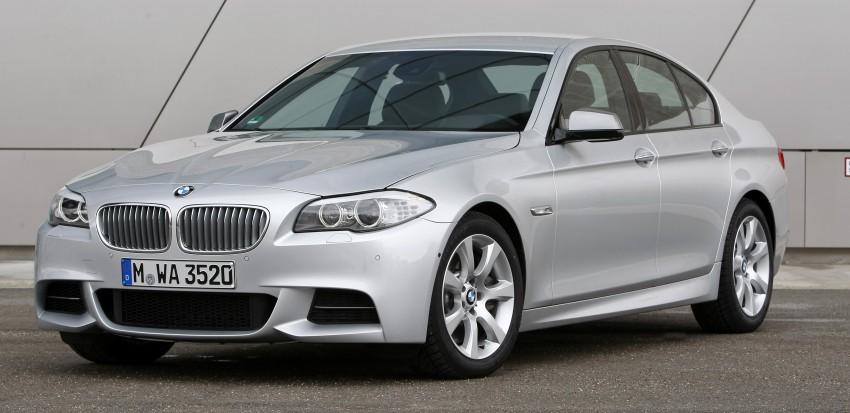 BMW M Performance Automobiles: tri-turbo diesel trio F10 BMW M550xd, BMW X5 M50d and BMW X6 M50d! Image #90252