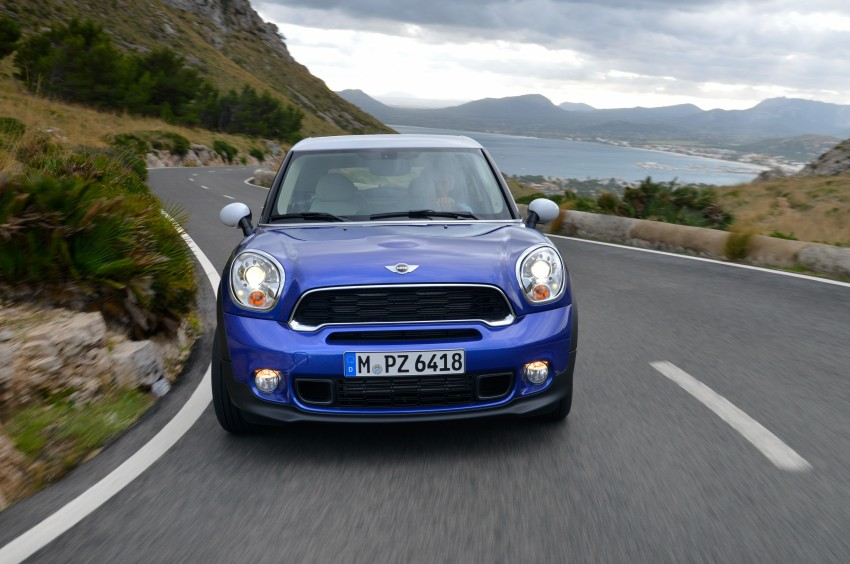 DRIVEN: The new MINI Paceman in Mallorca, Spain Image #143930