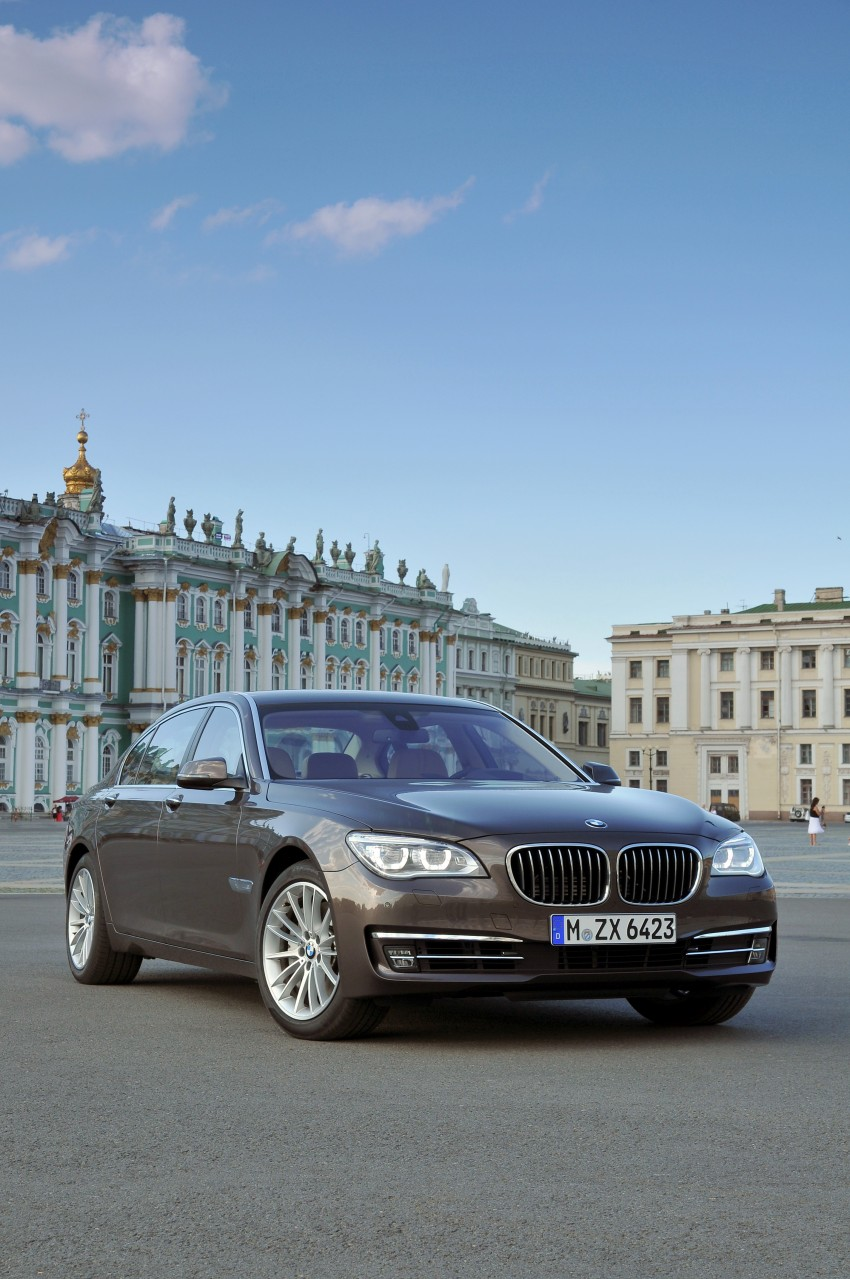 GALLERY: F01/F02 BMW 7-Series LCI International Media Drive – BMW 750Li long wheelbase Image #119917