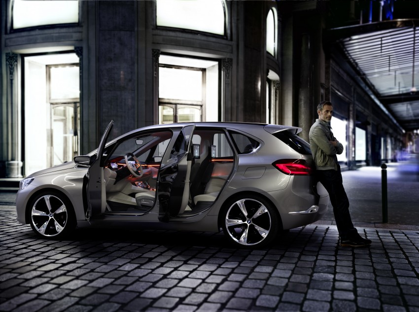 BMW Concept Active Tourer: Munich's B-Class competitor is front wheel drive! Image #131405