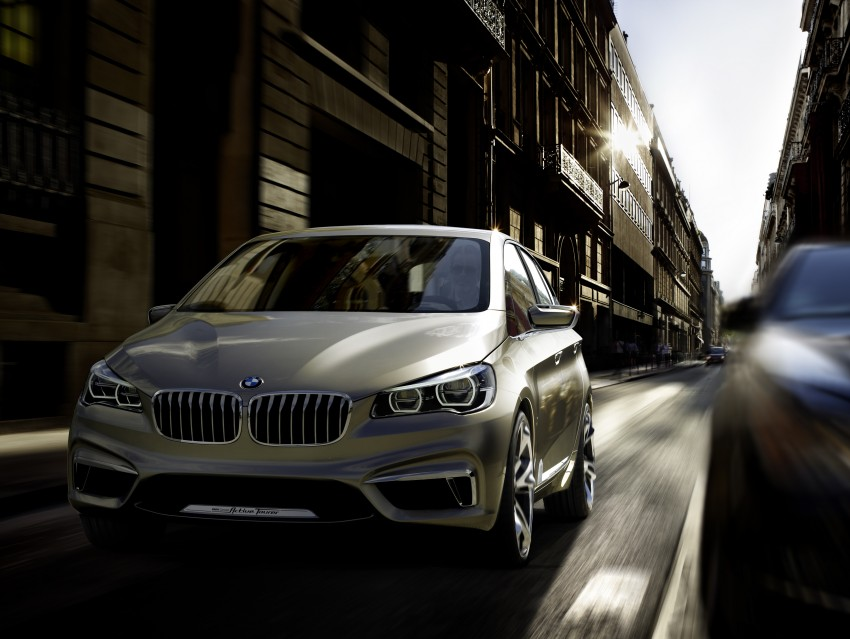 BMW Concept Active Tourer: Munich's B-Class competitor is front wheel drive! Image #131406