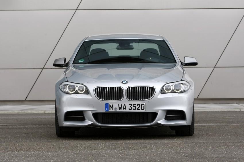 BMW M Performance Automobiles: tri-turbo diesel trio F10 BMW M550xd, BMW X5 M50d and BMW X6 M50d! Image #90255