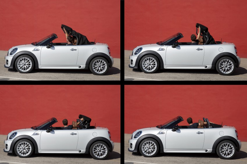 MINI Roadster – production drop top MINI Coupe unveiled! Image #74919