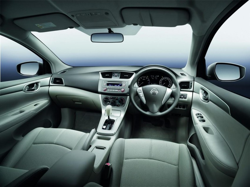 Nissan Sylphy launched in Thailand – new model gets improved 1.6, new 1.8, CVT; from 746,000 baht Image #128000