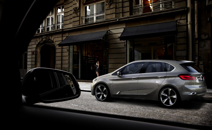 BMW Concept Active Tourer: Munich's B-Class competitor is front wheel drive! Image #131407