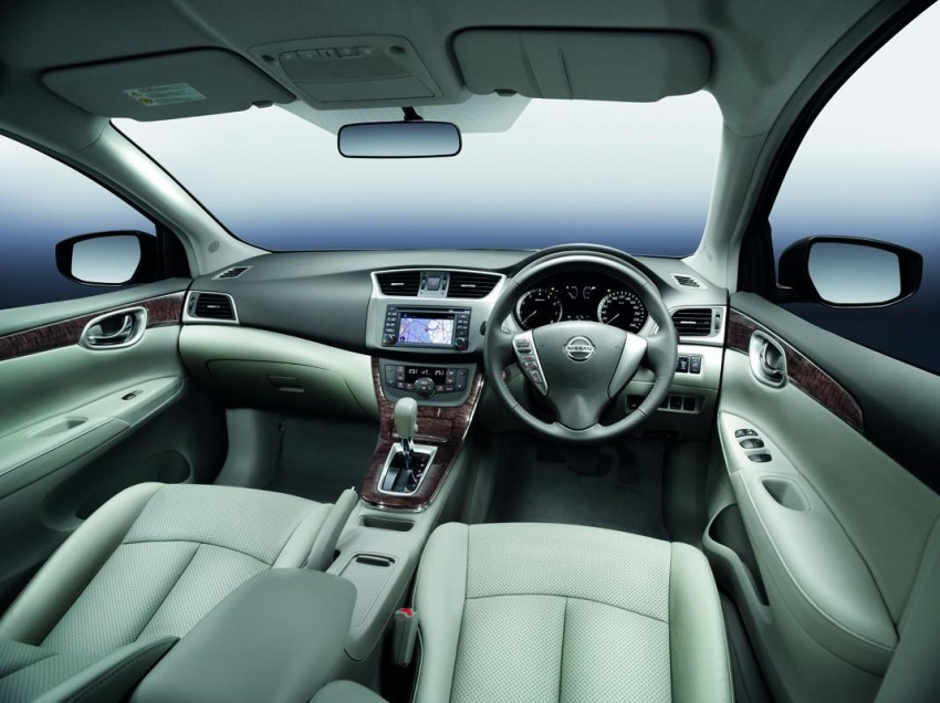 Nissan Sylphy launched in Thailand – new model gets improved 1.6, new 1.8, CVT; from 746,000 baht Image #128001