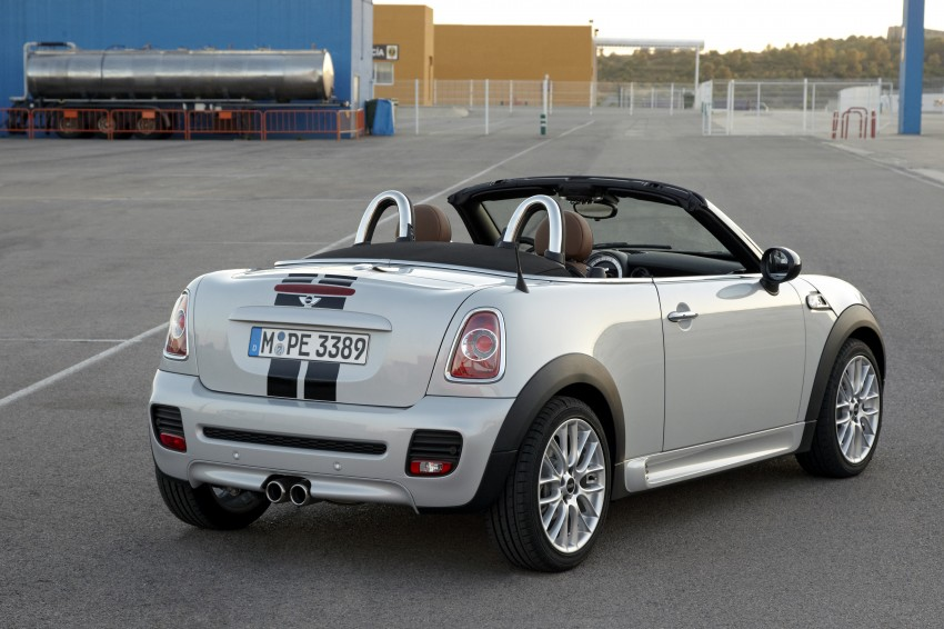 MINI Roadster – production drop top MINI Coupe unveiled! Image #74921
