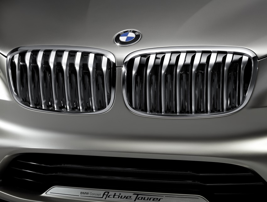 BMW Concept Active Tourer: Munich's B-Class competitor is front wheel drive! Image #131409