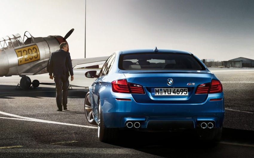 F10 BMW M5 to be launched on March 10, 2012 Image #86699