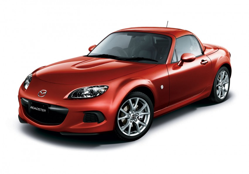 Mazda MX-5 upgraded and now being sold in Japan Image #116345