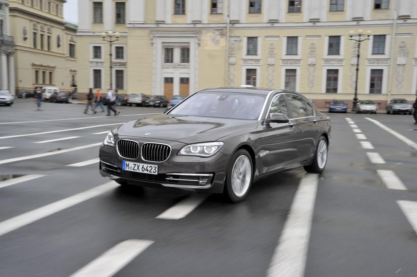 GALLERY: F01/F02 BMW 7-Series LCI International Media Drive – BMW 750Li long wheelbase Image #119926