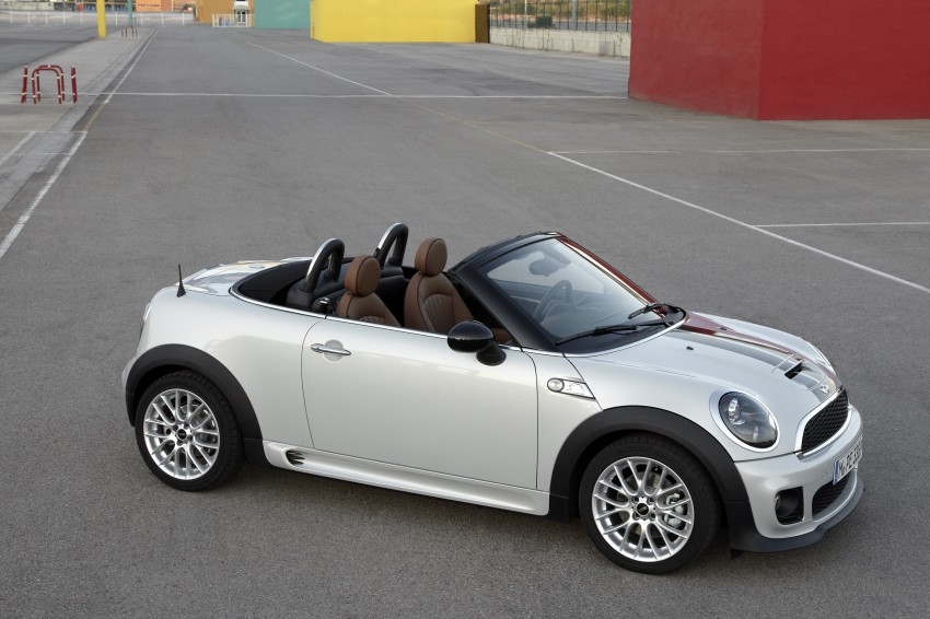 MINI Roadster – production drop top MINI Coupe unveiled! Image #74923