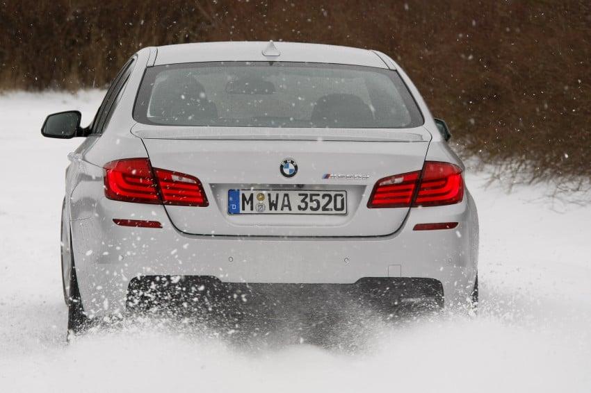 BMW M Performance Automobiles: tri-turbo diesel trio F10 BMW M550xd, BMW X5 M50d and BMW X6 M50d! Image #90260