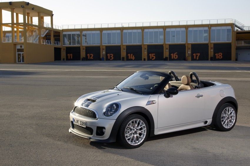 MINI Roadster – production drop top MINI Coupe unveiled! Image #74924