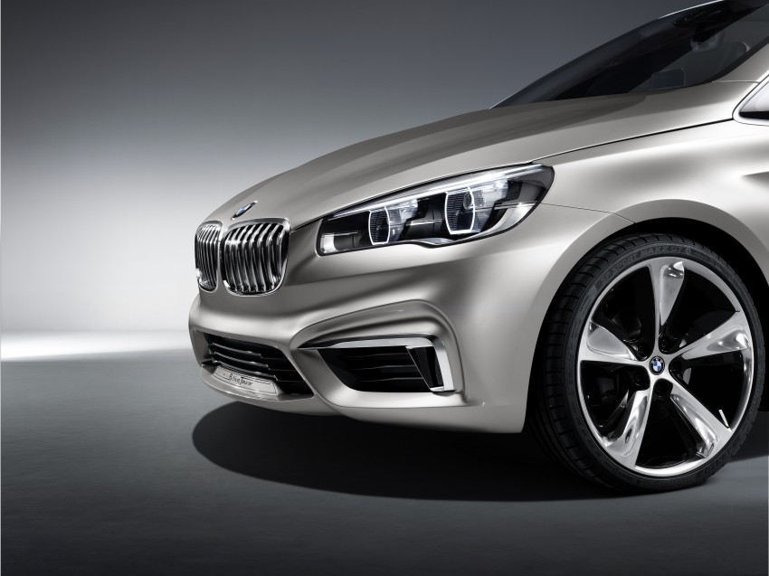 BMW Concept Active Tourer: Munich's B-Class competitor is front wheel drive! Image #131412