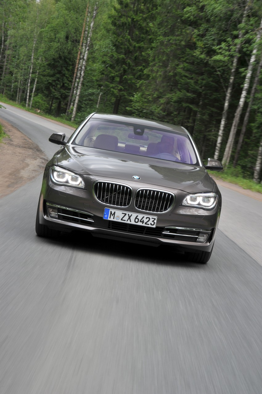 GALLERY: F01/F02 BMW 7-Series LCI International Media Drive – BMW 750Li long wheelbase Image #119928