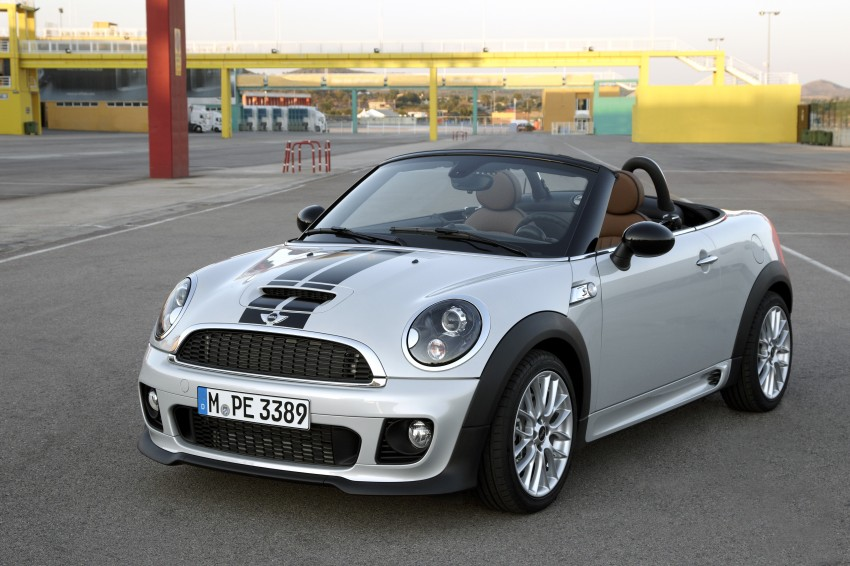 MINI Roadster – production drop top MINI Coupe unveiled! Image #74925