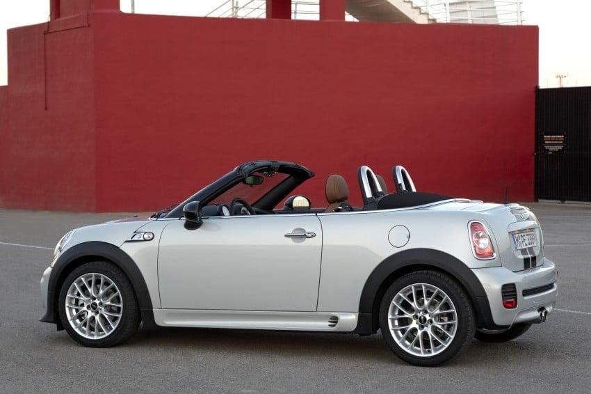 MINI Roadster – production drop top MINI Coupe unveiled! Image #74927
