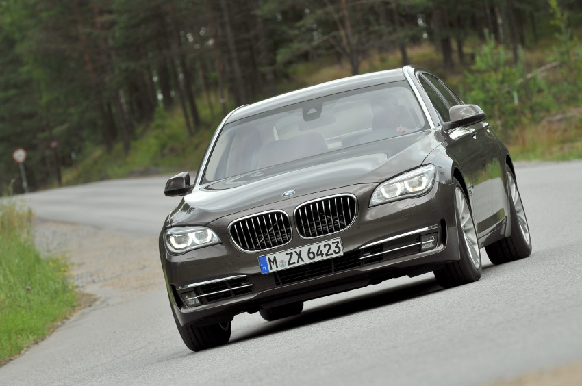 GALLERY: F01/F02 BMW 7-Series LCI International Media Drive – BMW 750Li long wheelbase Image #119931