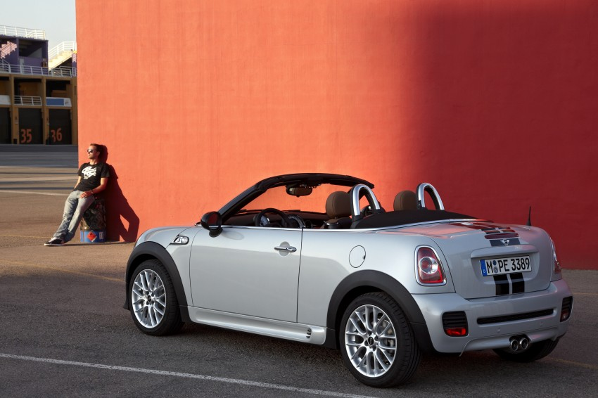 MINI Roadster – production drop top MINI Coupe unveiled! Image #74928