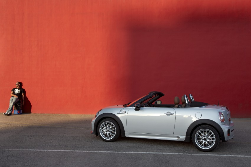 MINI Roadster – production drop top MINI Coupe unveiled! Image #74929