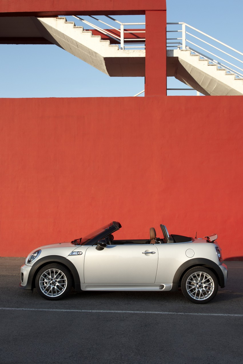 MINI Roadster – production drop top MINI Coupe unveiled! Image #74930
