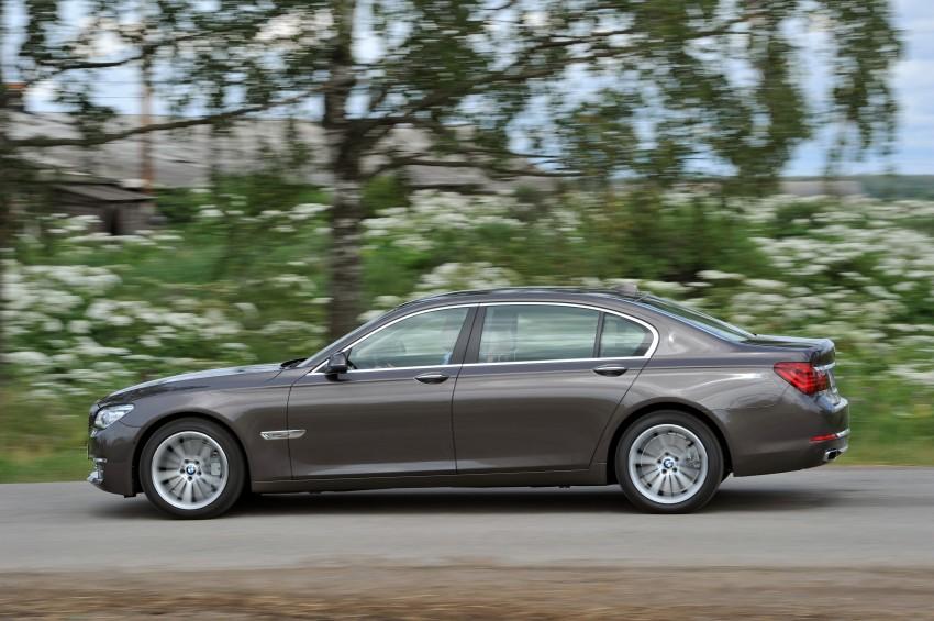 GALLERY: F01/F02 BMW 7-Series LCI International Media Drive – BMW 750Li long wheelbase Image #119936
