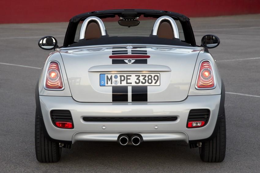 MINI Roadster – production drop top MINI Coupe unveiled! Image #74932