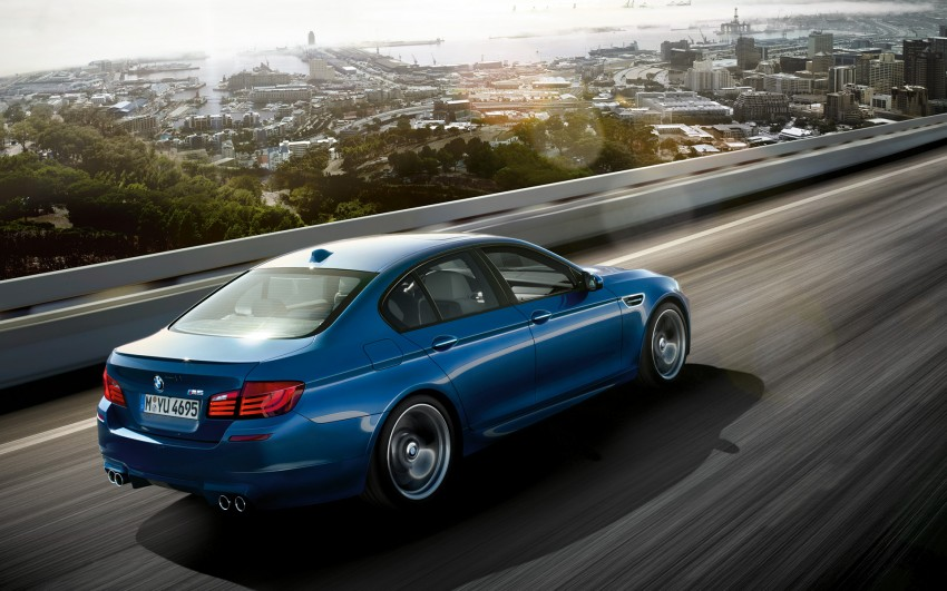 F10 BMW M5 to be launched on March 10, 2012 Image #86697