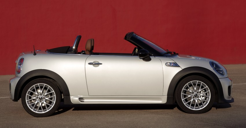 MINI Roadster – production drop top MINI Coupe unveiled! Image #74933