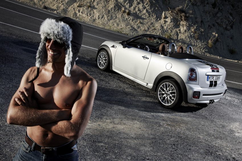 MINI Roadster – production drop top MINI Coupe unveiled! Image #74934