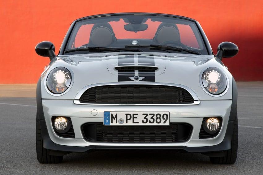 MINI Roadster – production drop top MINI Coupe unveiled! Image #74935