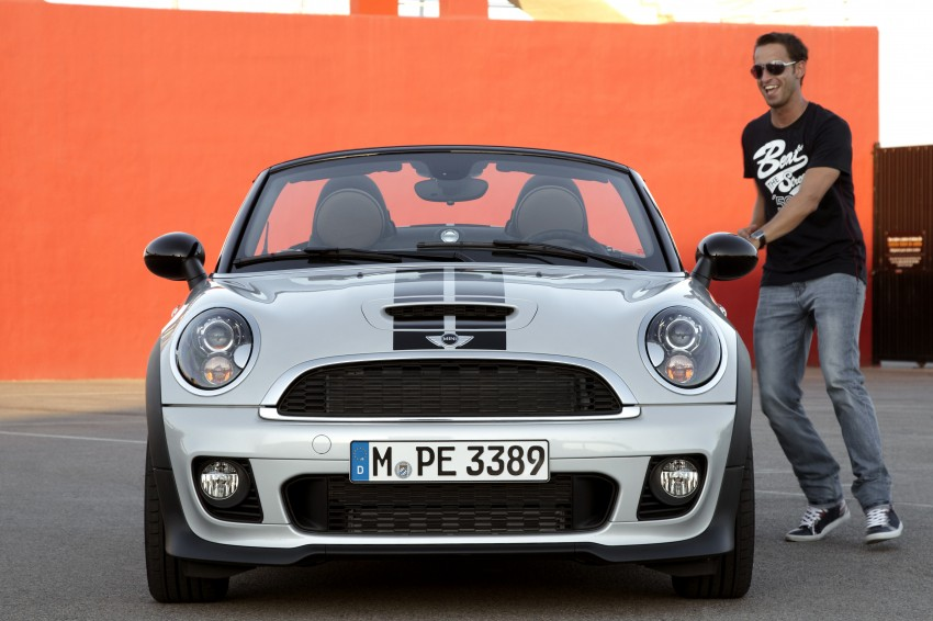 MINI Roadster – production drop top MINI Coupe unveiled! Image #74938