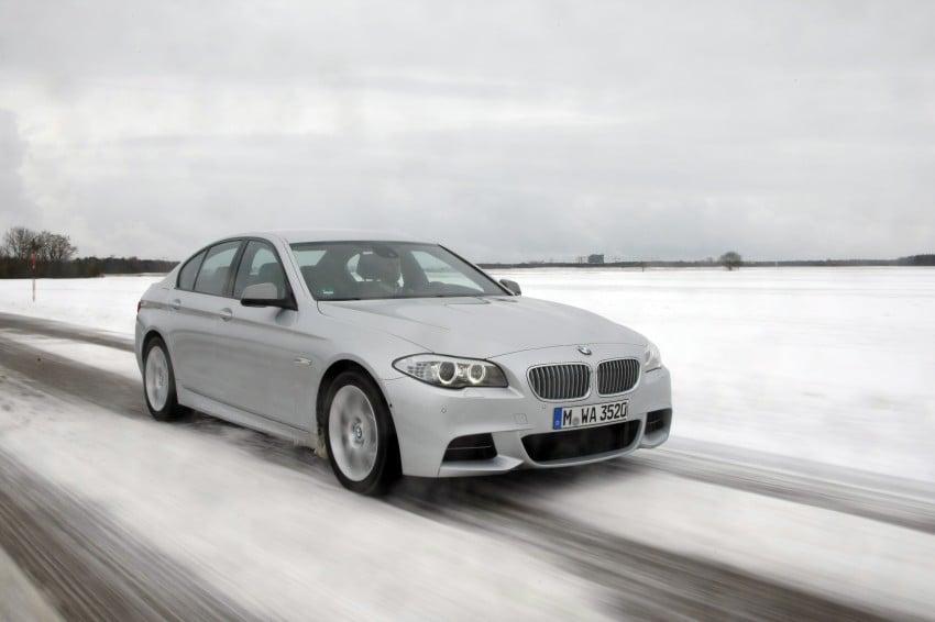 BMW M Performance Automobiles: tri-turbo diesel trio F10 BMW M550xd, BMW X5 M50d and BMW X6 M50d! Image #90275