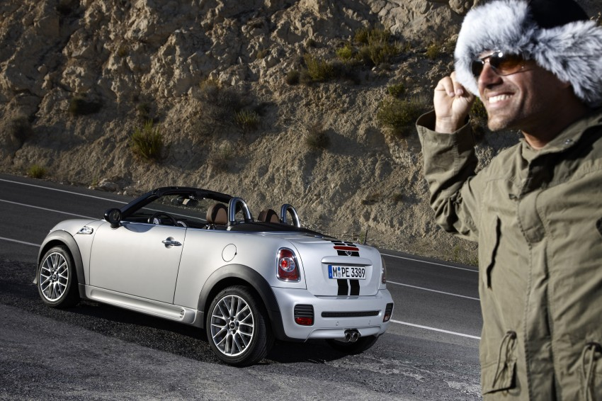 MINI Roadster – production drop top MINI Coupe unveiled! Image #74939