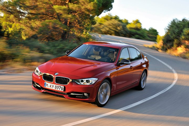 BMW F30 3 Series unveiled: four engines at launch, three equipment lines, market debut in Feb 2012 Image #72786
